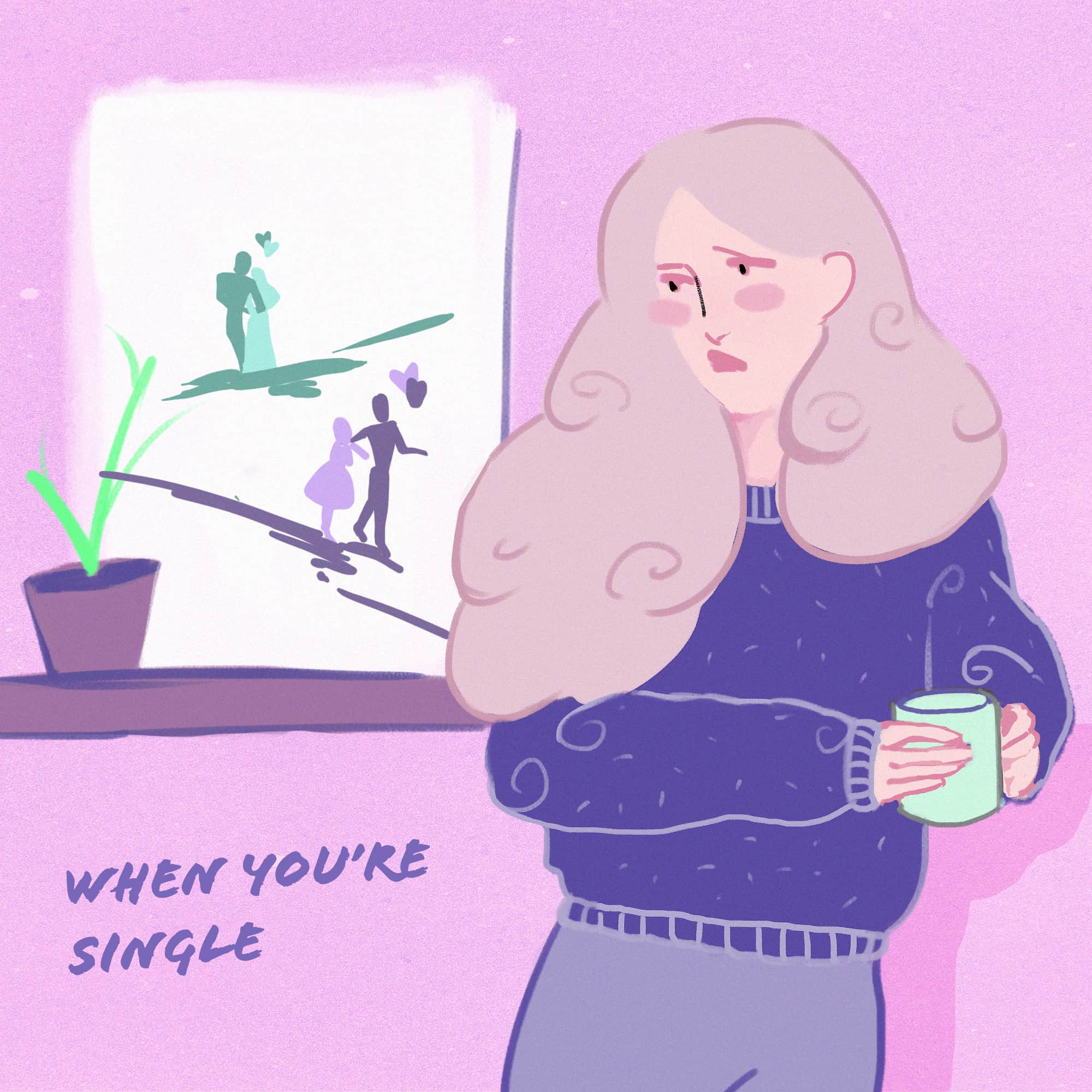 How to navigate Valentine's day 2021 When You're Single