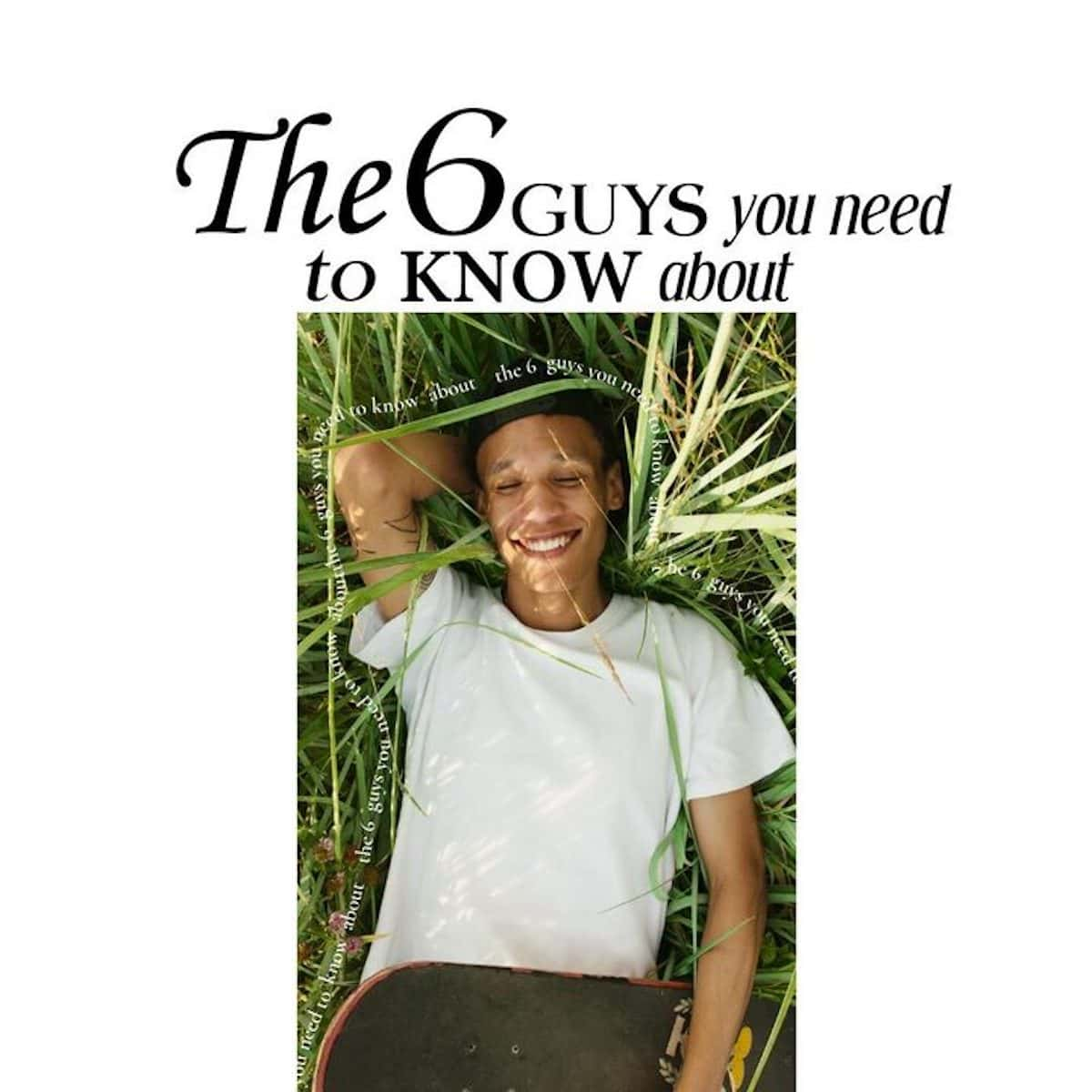 What's Your Type? The 6 Guys You Need to Know About